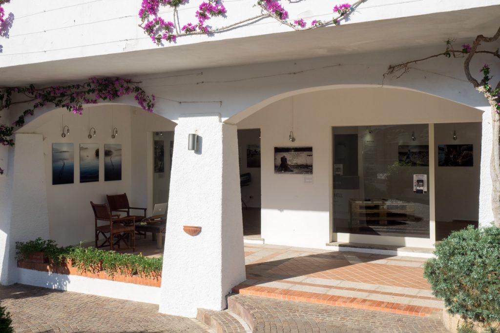 Tony Corocher personal exhibition, Poltu Quatu, Costa Smeralda, Sardinia