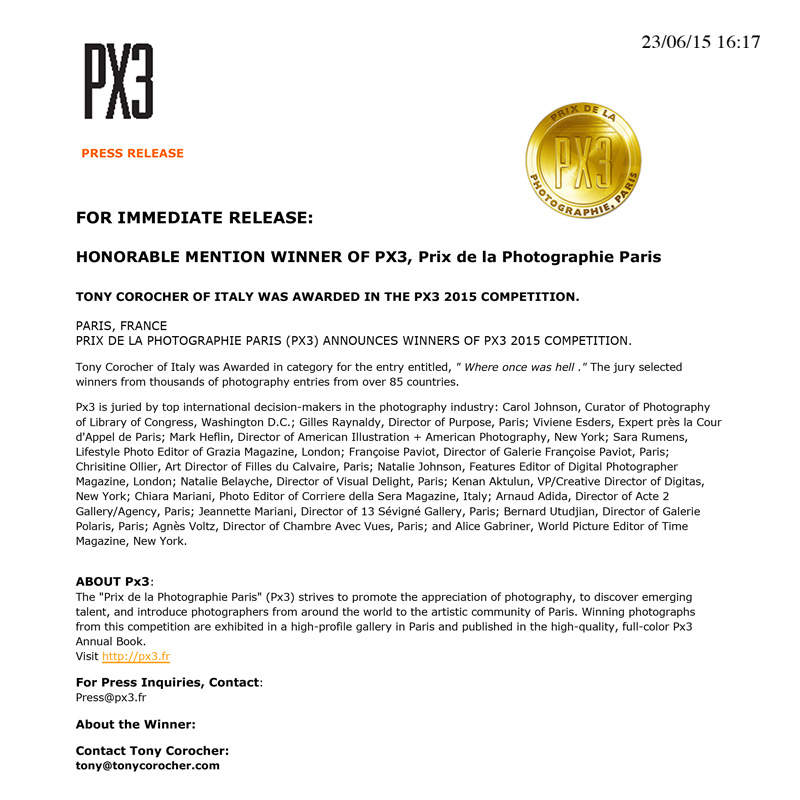 winner's services- PRESS RELEASE