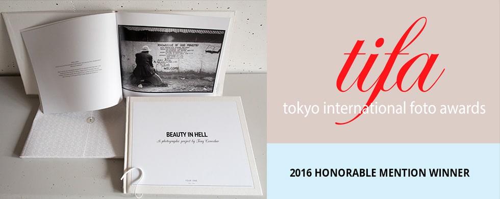 Tony Corocher, Tifa, Tokyo International Photography Awards